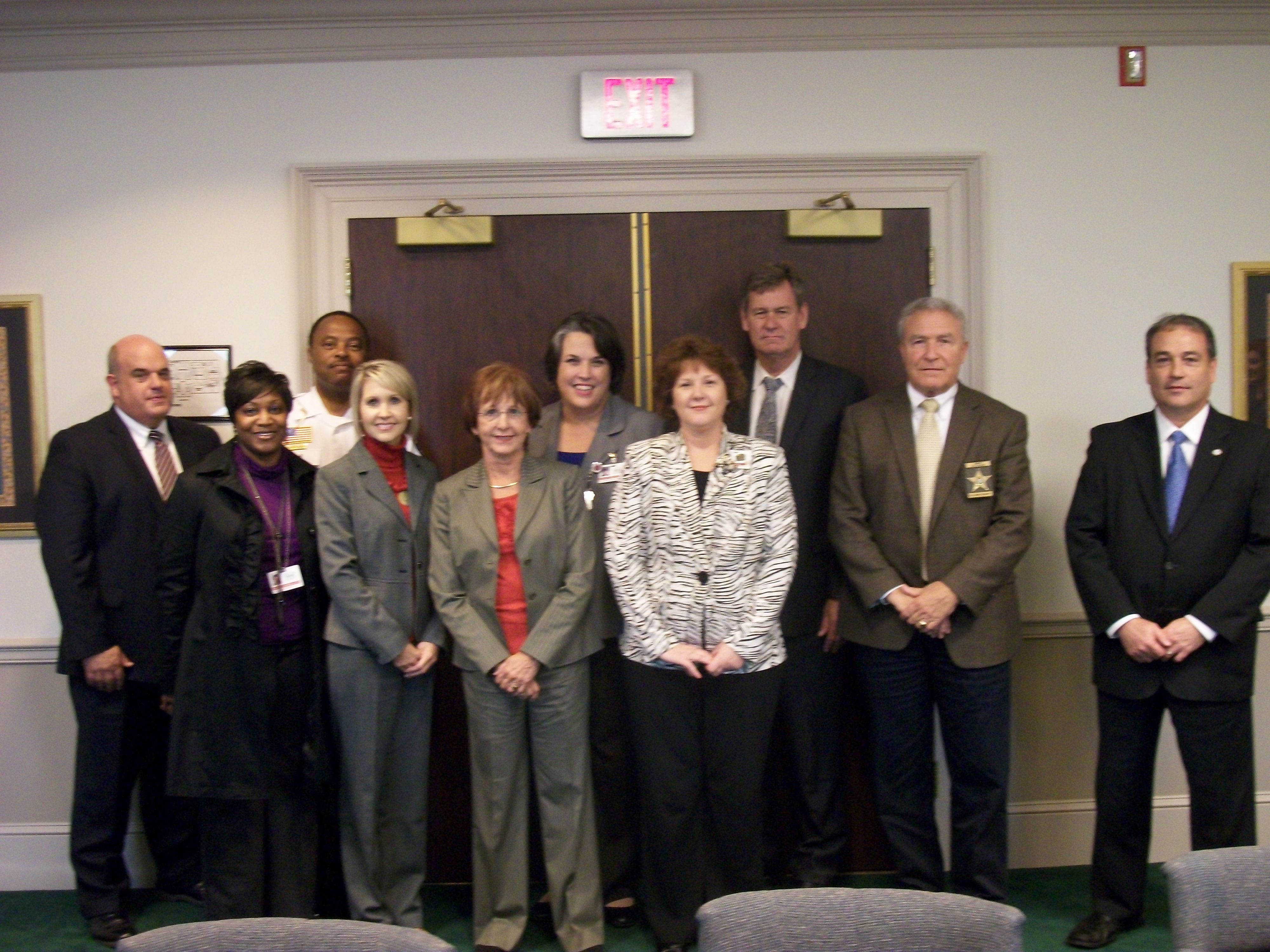 Baldwin County Court Collaborative First Group Meeting photo